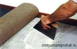 Укладка коврового покрытия, ukladka-kovrolina