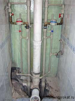Замена канализационного стояка, меняем чугунный стояк